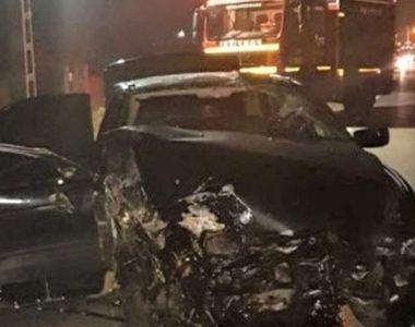 Un tânăr de 18 ani a murit, iar trei persoane au fost rănite într-un accident cumplit