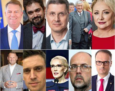 Campania electorală 2019 a început. Lista completă a candidaților la alegeri...