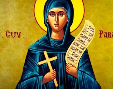 Sfânta Parascheva. Sărbătoare mare! Ce să nu faci în această zi