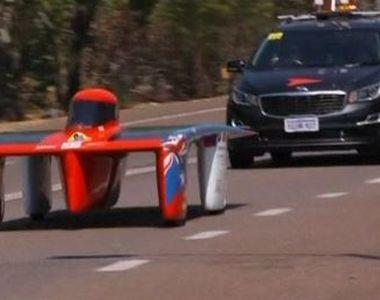 VIDEO | Cursa mașinilor solare. Imagini inedite
