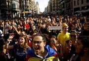 Proteste violente în Barcelona, după condamnarea liderilor catalani. Atenționare de călătorie MAE