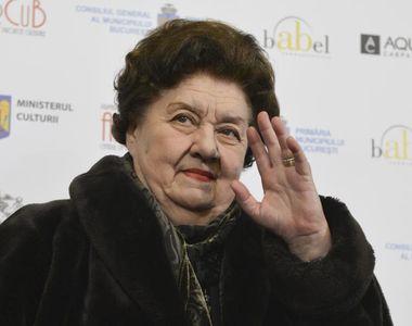 Tamara Buciuceanu a murit! Marele regret al doamnei teatrului românesc! L-a dezvăluit...
