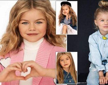 """Cum arată cea mai frumoasă fetiță din lume, considerată """"înger"""". La doar șase ani,..."""