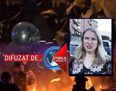 VIDEO | Atmosferă de coșmar în Barcelona. Românii spun că nu mai au curaj să își ducă...