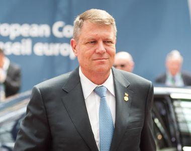 Klaus Iohannis participă, joi şi vineri, la reuniunea Consiliului European de la Bruxelles