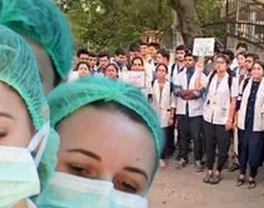 """VIDEO   Revolta absolvenților de Medicină: """"Suntem șomeri și nu avem asigurare de..."""