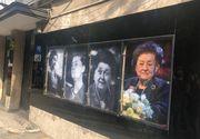 Primele imagini de la înmormântarea actriței Tamara Buciuceanu Botez! Va fi  înhumată la cimitirul Sf Vineri, lângă soțul ei VIDEO