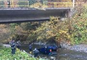 Accident teribil pe Transfăgărășan, unde o femeie a căzut cu mașina de pe pod