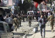 Atac terorist în Afganistan. Cel puțin 62 de oameni au murit după ce o bombă a explodat într-o moschee