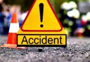 Un autocar cu 46 de persoane la bord, implicat într-un accident rutier!
