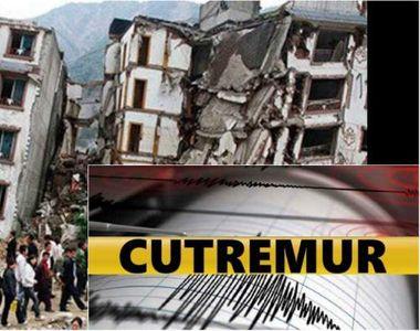 Cutremur devastator! Autoritățile sunt în ALERTĂ!