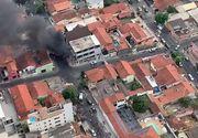 Trei morţi după ce un avion s-a prăbuşit imediat după decolare în Brazilia