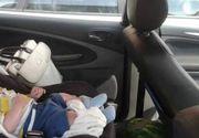 Un bebeluș a fost împușcat mortal de patru ori în mașina în care se afla și mama