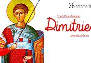 Sărbătoare mare pe 26 octombrie! Ce să NU faci NICIODATĂ de Sfântul Dumitru. Tradiții și obiceiuri