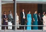 Cum s-a îmbrăcat Carmen Iohannis la ceremonia de întronare a împăratului Japoniei