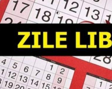 Încă o zi liberă de la stat!  De 16 februarie acești români vor sta acasă
