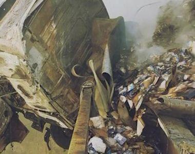 VIDEO | Accident cumplit pe DN1. Imaginile sunt terifiante