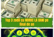 Horoscop. Top 3 zodii cu noroc la bani pe final de an