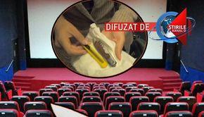 VIDEO | Pericolul de la cinema. Reporterul Știrilor Kanal D a intrat, fără probleme, cu obiecte ascuțite în două săli din Capitală