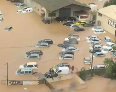 VIDEO | Imagini dramatice din Franța. Zeci de orașe au fost acoperite de ape