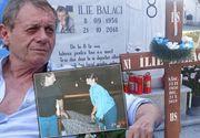 Momente emoționante la mormântul lui Ilie Balaci, la un an de la moartea fostului mare fobalist FOTO