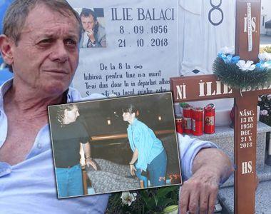 Momente emoționante la mormântul lui Ilie Balaci, la un an de la moartea fostului mare...