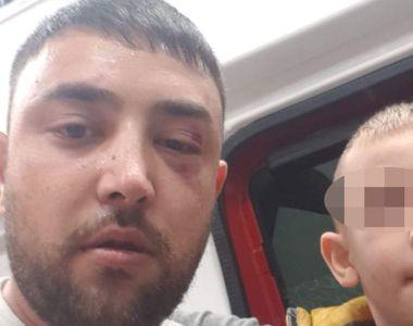 Scene șocante în care un copil de trei ani este gazat de agenţii unei firme de pază din...