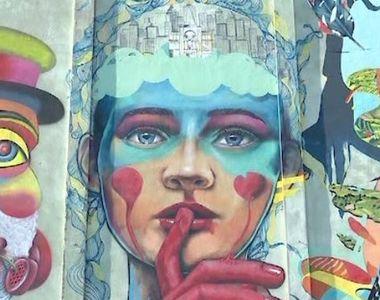 VIDEO | Cea mai mare pictură din România