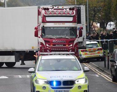 Ultimele informații despre camionul-mormânt descoperit lângă Londra