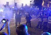 VIDEO | Încă o zi de proteste violente în Barcelona!