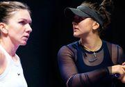 Simona Halep, victorie împotriva Biancăi Andreescu în primul meci la Turneul Campioanelor!