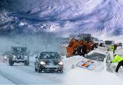 Vortexul polar a lovit România! Iarnă în toată regula! Ce se întâmplă zilele urmatoare
