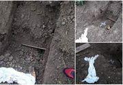 Descoperire halucinantă în Mureș. Cadavrul unui bărbat găsit dezgropat, cu urme uriașe de zgârieturi pe sicriu