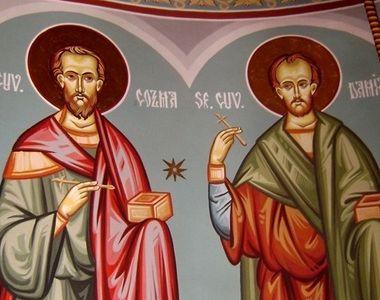 Sărbătoare mare vineri: Doi sfinți importanți apar în calendar. Mulți români le poartă...