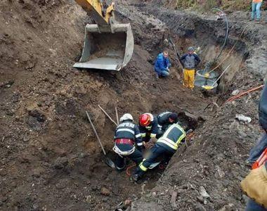 Anchete după moartea muncitorului prins sub un mal de pământ, pe un şantier din Braşov;...