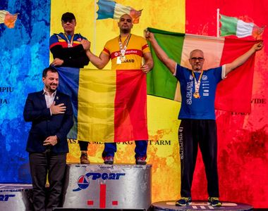 Campionatul Mondial de Skandenberg, la Constanța: Ion Oncescu se luptă astăzi pentru al...