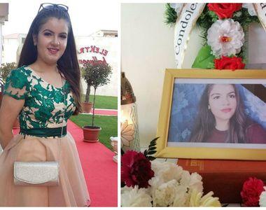 Ștefania, fata care s-a sinucis la Olimp din cauza unei note mici, a fost înmormântată