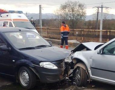 Şase persoane, rănite într-un accident produs în judeţul Maramureş, fiind implicate...