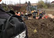 Botoşani: Un tânăr de 18 ani a murit după ce a fost prins sub un mal de pământ