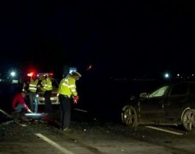 VIDEO | Accident teribil, urmat de incendiu. Șase oameni sunt în stare gravă