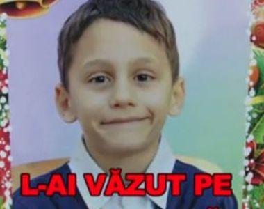 Copil de 8 ani, dat dispărut. Părinții sunt disperați de când Iulian Bițică nu mai e