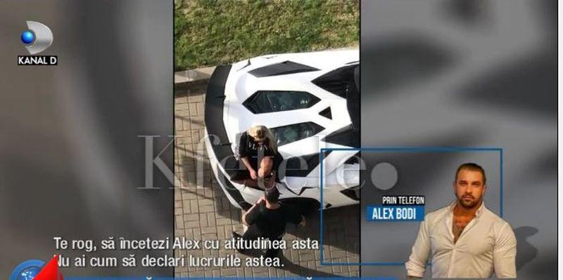 VIDEO | Bianca Drăgușanu și Alex Bodi, primele declarații după apariția imaginilor în care se bat în public