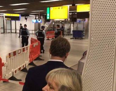 Alertă falsă de securitate la Schiphol-Amsterdam declanșată din greșeală de către un pilot