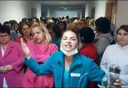 Protest la Spitalul de urgenţă Craiova - angajaţii spun că nu mai au medicamente pentru bolnavi şi că este frig în saloane