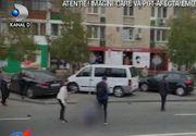 VIDEO  | Patru persoane au fost rănite, la Craiova, după ce o maşină a intrat pe scuarul unde oamenii aşteptau tramvaiul