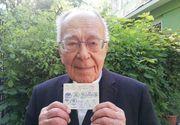 Mihai Șora a votat chiar de ziua lui. Filosoful este observator într-o secție de votare din diaspora