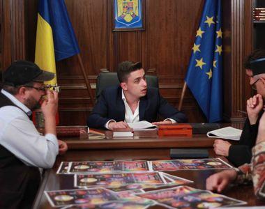 """VIDEO. Decalogu' lui Ghita Spagoveanu, primarul din """"Moldovenii"""". Serialul de comedie..."""
