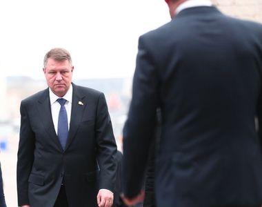 Alegeri prezidenţiale 2019 - Iohannis: Am votat pentru România normală. Îmi doresc un...
