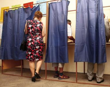 Alegeri prezidentiale 2019: incidente în cabina de vot