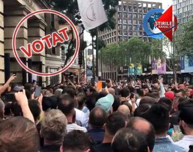VIDEO | Vot-record în diaspora! Numărul total al votanţilor din diaspora a trecut de...